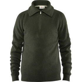 Fjällräven Greenland Suéter Re-Wool Hombre, deep forest
